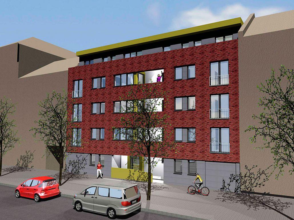 Wohnbebauung Münster Zentrum