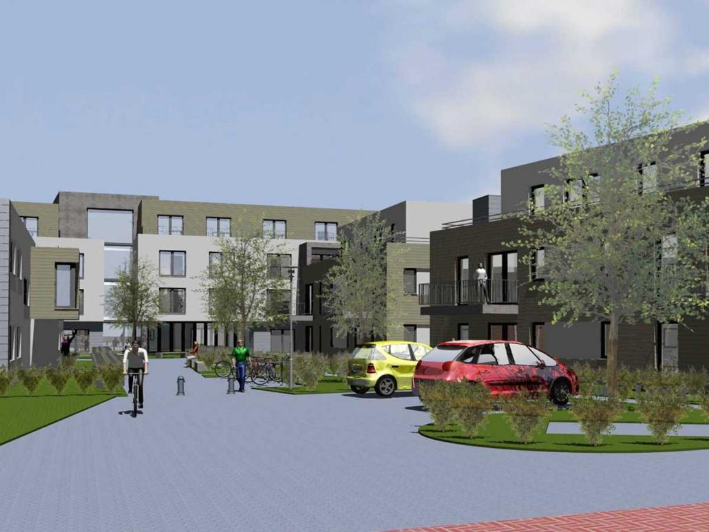Pflegeeinrichtung mit barrierefreien Wohnungen Oelde