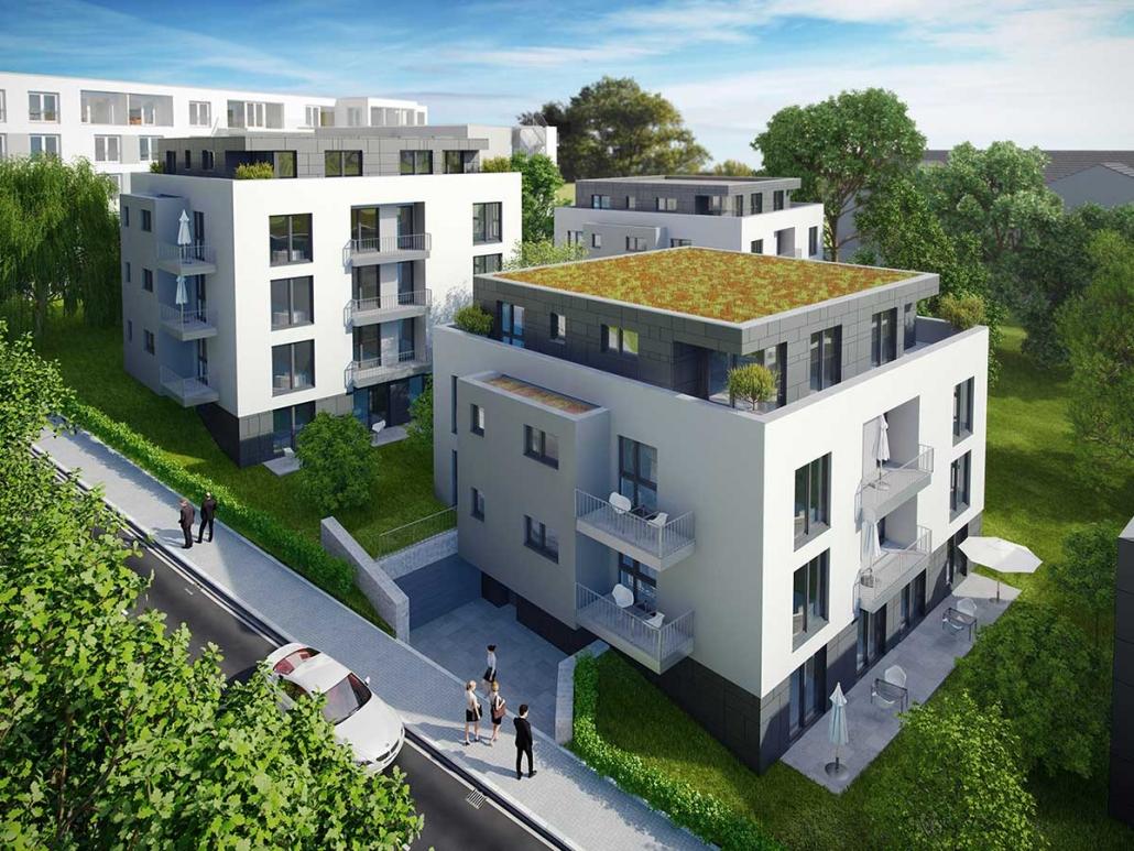 Pflegeeinrichtung mit barrierefreien Wohnungen in Wuppertal