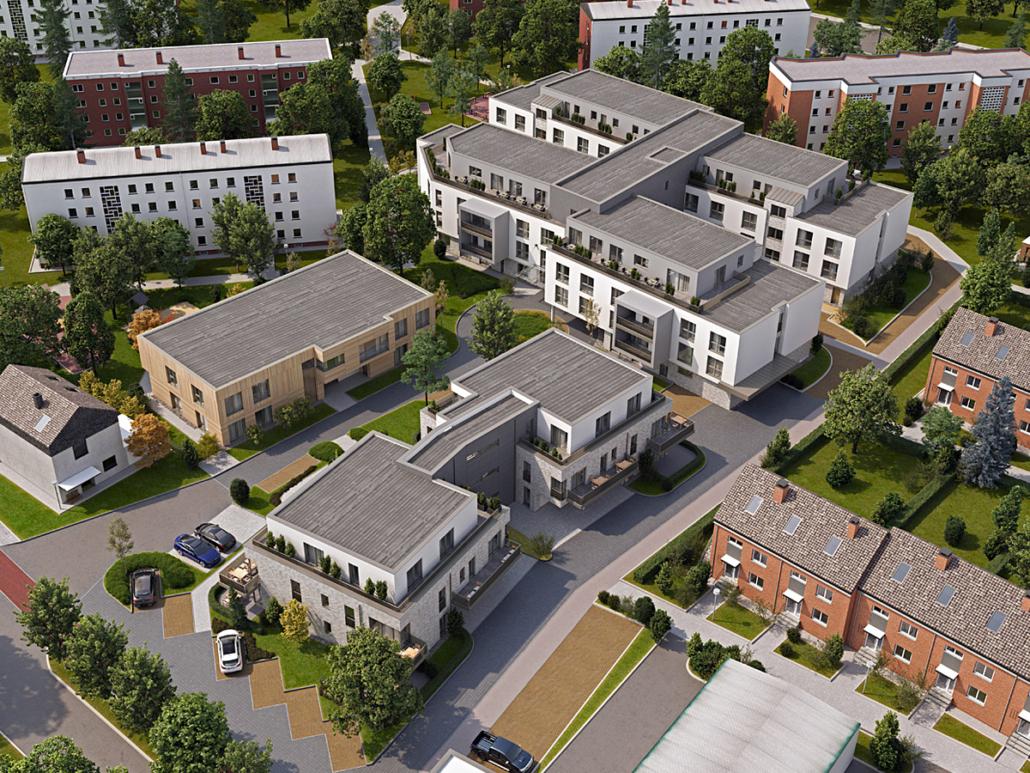 Pflegeeinrichtung mit barrierefreien Wohnungen in Oelde